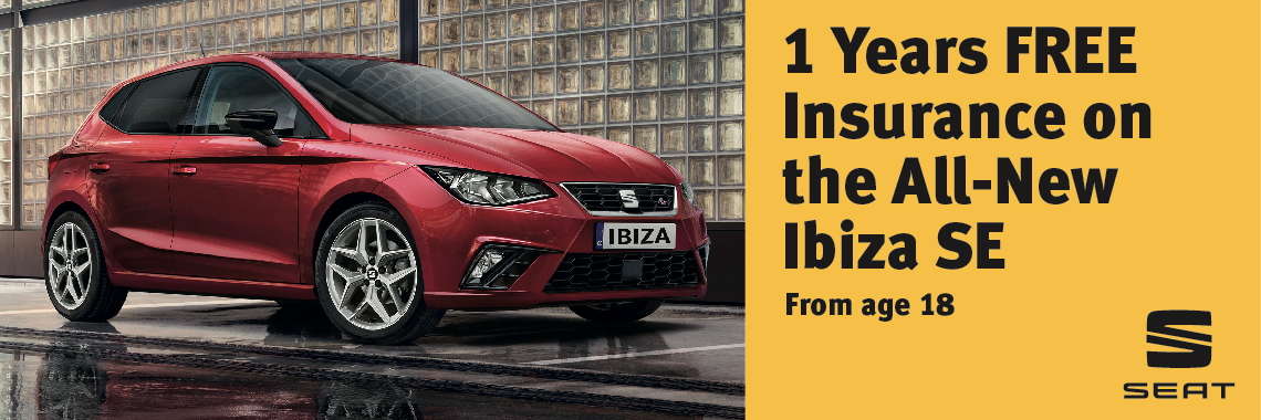 W Livingstone Ltd New SEAT Ibiza insurance offer