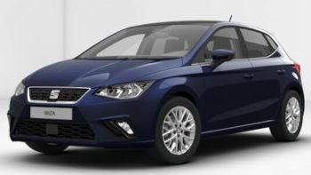 SEAT Ibiza SE Design - Mediterranean blue exterior