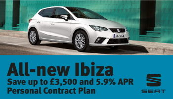 W Livingstone Ltd New SEAT Ibiza offer