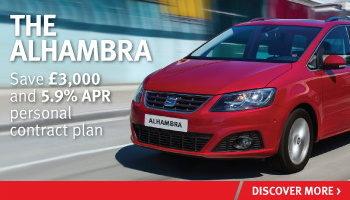 W Livingstone Ltd SEAT Alhambra offer