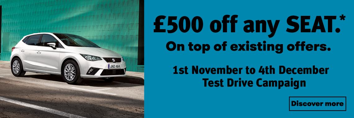 W Livingstone Ltd November Test Drive Offer