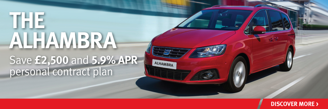 W Livingstone Ltd SEAT Alhambra offer