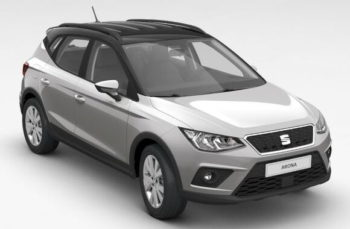 SEAT Arona SE Technology - Silver with Black