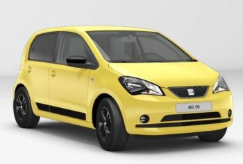 SEAT Mii 5dr Design - Yellow