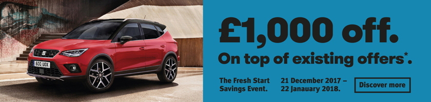 W Livingstone SEAT Fresh Start Savings event