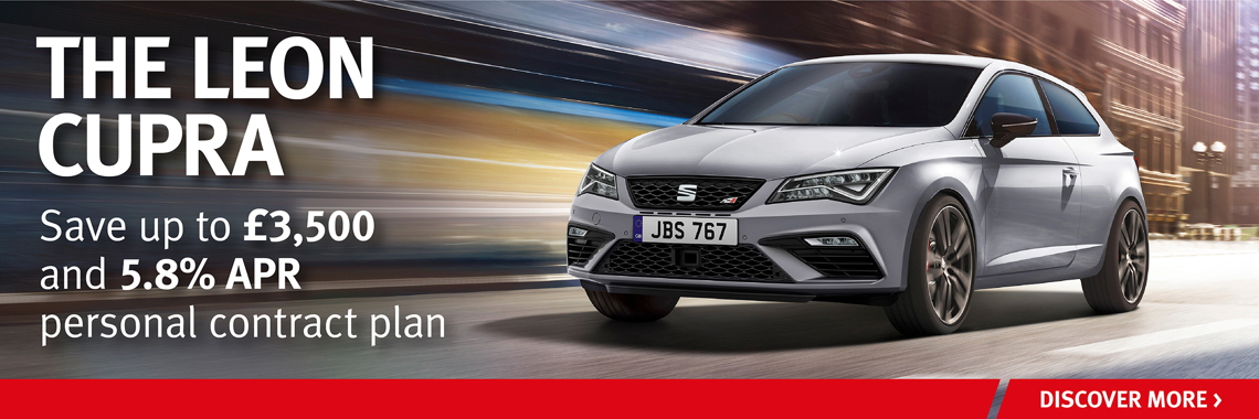W Livingstone Ltd SEAT Leon Cupra offer