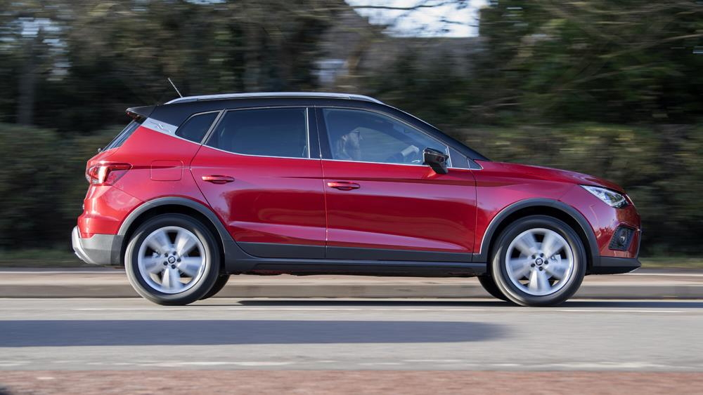 SEAT Ateca - on the road