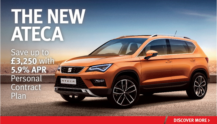 W Livingstone Ltd - SEAT Ateca offer