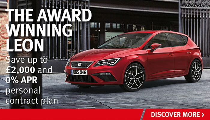 W Livingstone Ltd - SEAT Leon 5dr FR offer