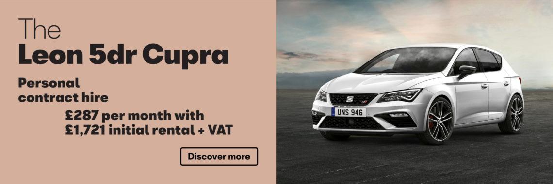 W Livingstone Ltd SEAT Leon Cupra retail offer