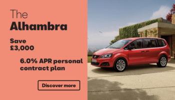 W Livingstone Ltd - SEAT Alhambra offer