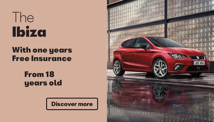 W Livingstone Ltd SEAT Ibiza free insurance offer