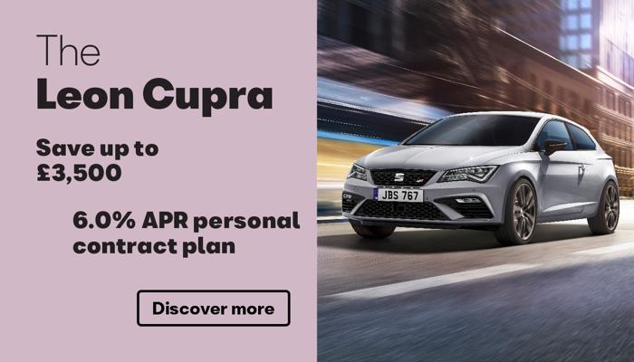 W Livingstone Ltd - SEAT Leon Cupra offer
