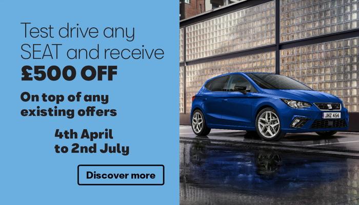 W Livingstone Ltd SEAT Test Drive Offer