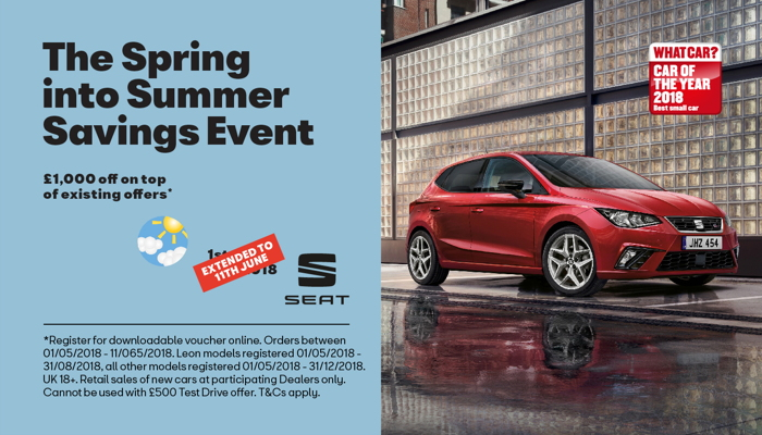 W Livingstone Ltd - Spring into summer savings offer extended