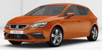 SEAT Leon 5dr FR Eclipse Orange Metallic