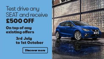 W Livingstone Ltd - SEAT test drive offer