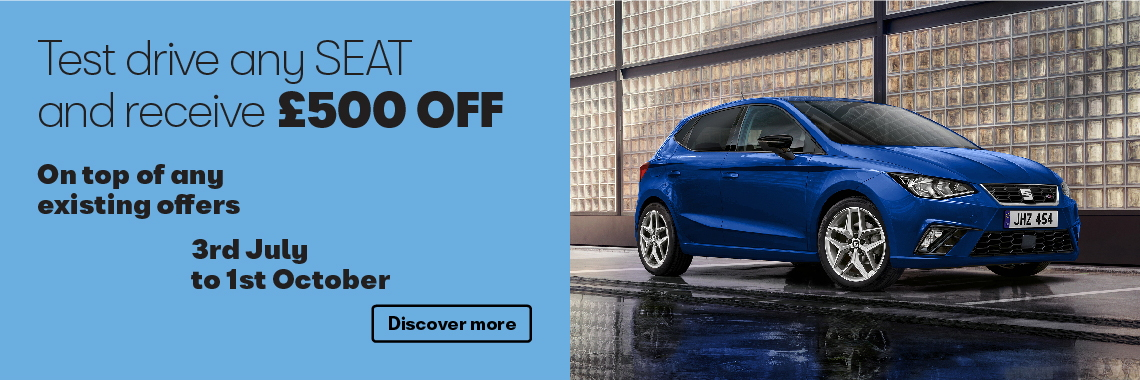 W Livingstone Ltd - SEAT test drive offer