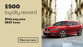W Livingstone Ltd SEAT Leon loyalty reward