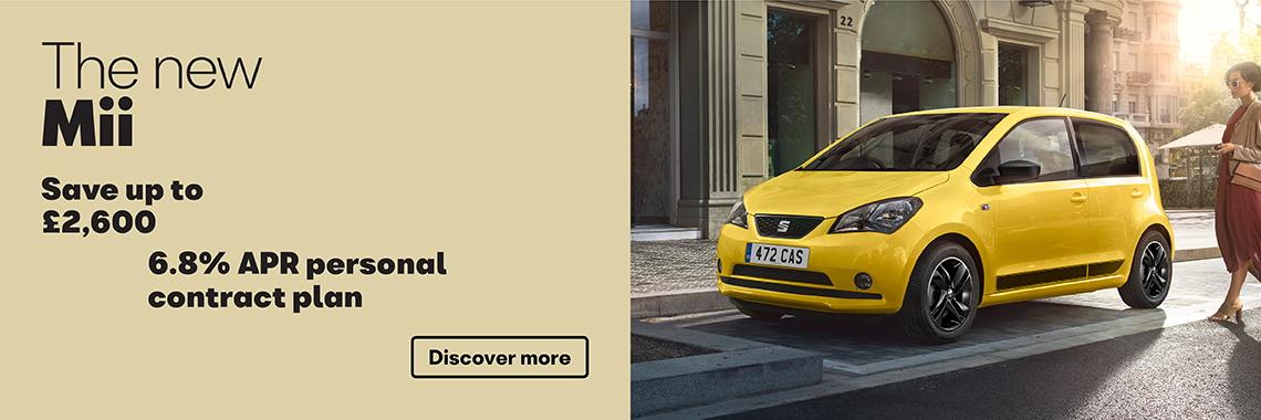 W Livingstone Ltd SEAT Ibiza SE Leon loyalty offer