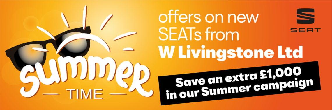 W Llivingstone Ltd - Summer campaign