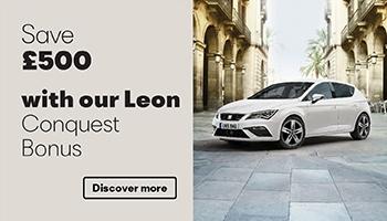 W Livingstone Ltd SEAT Leon Conquest Bonus