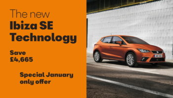 W Livingstone Ltd SEAT Ibiza SE Tech offer