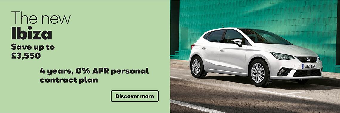 W Livingstone Ltd SEAT Ibiza offer