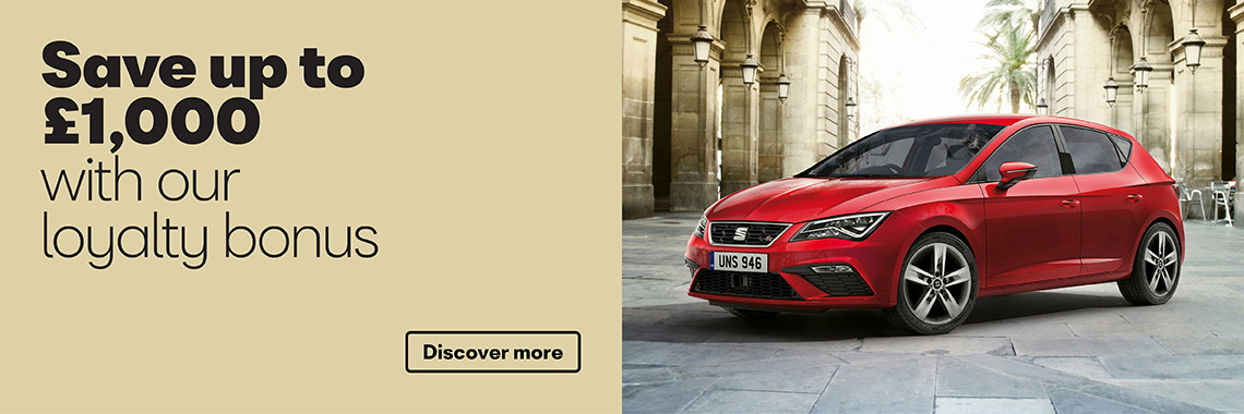 W Livingstone Ltd SEAT Ibiza SE Leon loyalty offer