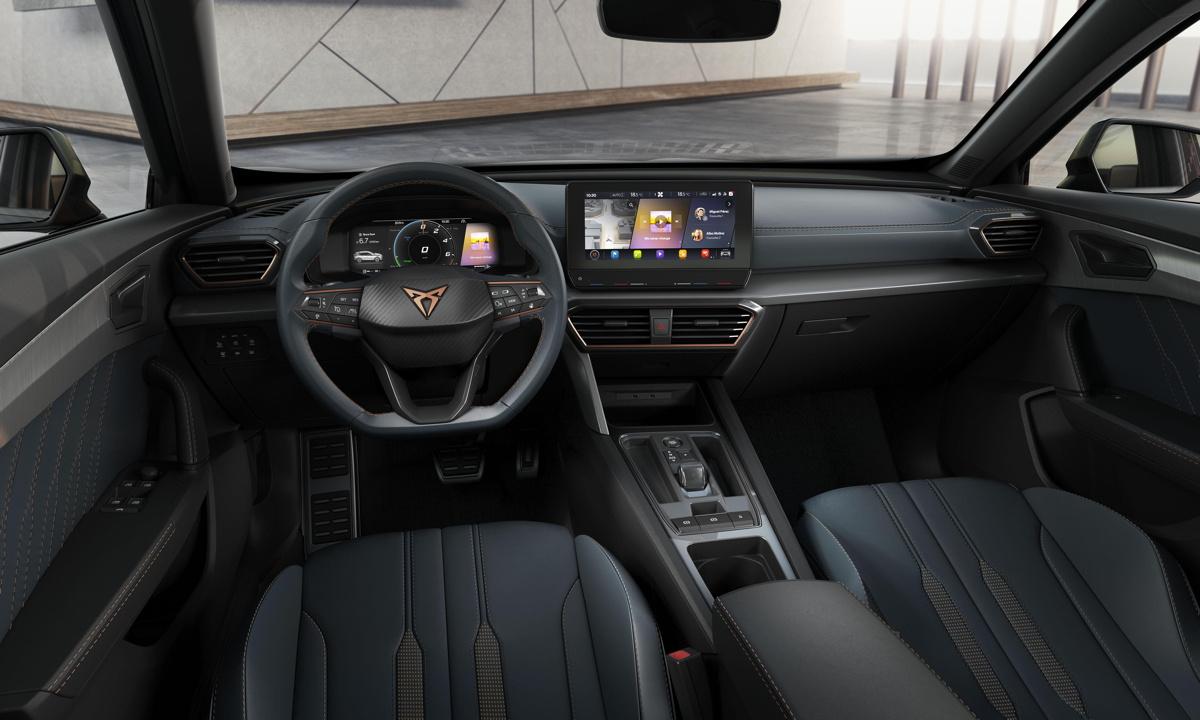SEAT Cupra Formentor - interior