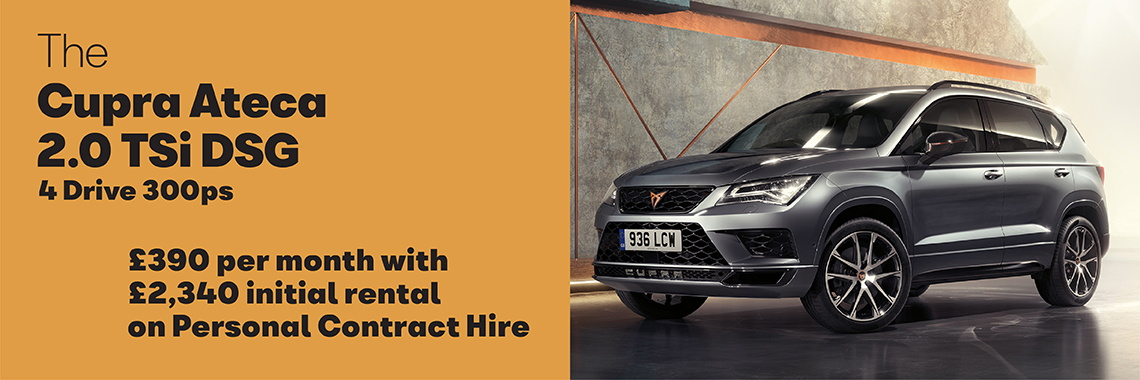W Livingstone Ltd SEAT Ateca Personal Contract Hire offer