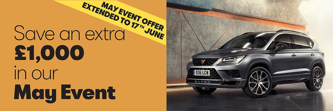 W Livingstone ltd - SEAT May Event offer