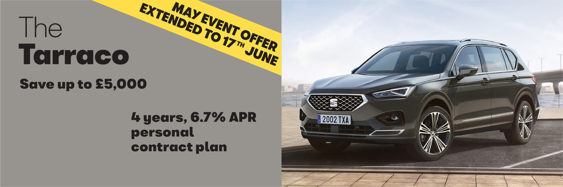 W Livingstone ltd - SEAT Tarraco offer