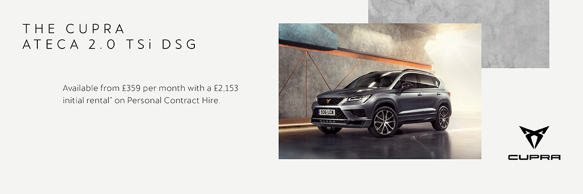 W Livingstone ltd - SEAT Cupra Ateca - personal contract hire