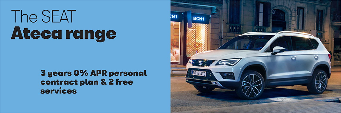 W Livingstone Ltd SEAT Ateca offer